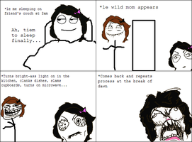 Rage Comic: Troll Mom by ToxicKrieg