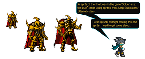 Golden axe sprite by Noland005