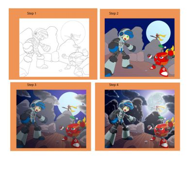 Passo a passo Mighty no 9 by DiegoHunter