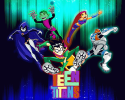Photoshop teen titans by qpalzmsk12