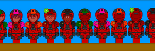 RVB dA Style:Red New Armor by CometComics