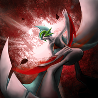 Mega Gallade by Chenks-R