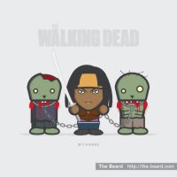 The Walking Dead - Michonne by Boss2000