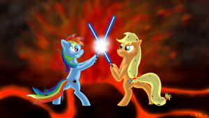 Friendship in Flames by ThunderElemental