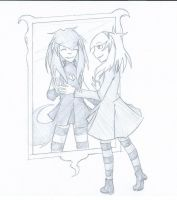 :redraw: Mirror... by Engelmoon