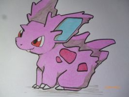Nidoran Closeup by tigers-go-roar