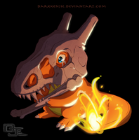 Pokemon Awkward: Charbone Tattoo by DarkKenjie