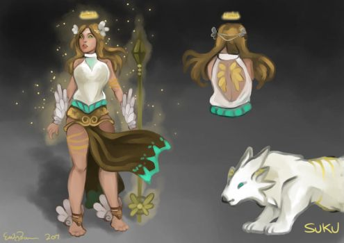 Angelic Awilix Skin Concept by Failmuffin01