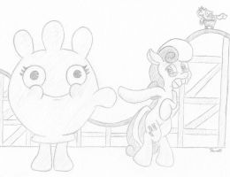 Bonbon and Glovey Glove by Ramott