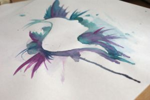 Experimenting with watercolors 2 by electrogrunge