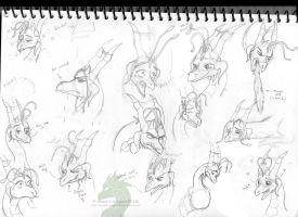 Moonlit Expressions by NovaBrush