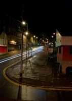Hilltown at Night by kirstylegg