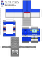 Paper Pezzy- Soundwave 'Minecraft' by CyberDrone