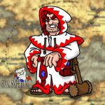 White Mage Jefferson by professorhazard