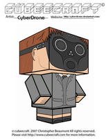 Cubeecraft - The Empty Child 'Doctor Who' by CyberDrone