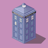 TARDIS Patch by Hathor-the-Queen