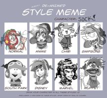 Style Meme: SOCK by real-faker