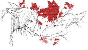 AT: bloody love by PacankaSima