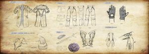 Dante DMC4: Costume Blueprint by 23rdAngel