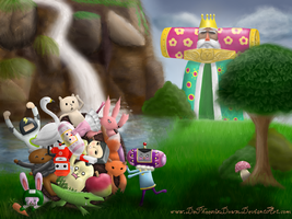 The prince and his katamari? by DePhoenixDown