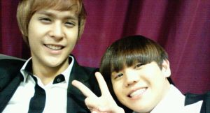 Yoseob DongWoon Smile by waterbirdART