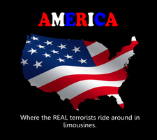 REAL Terrorists Ride in Limos by IAmTheUnison