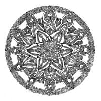 Mandala 13 Sept 2014 by Artwyrd
