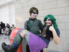 Joker Love by AkraruPhotography