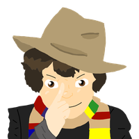 The Fourth Doctor by drawbot4000