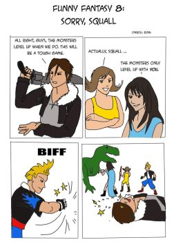 Sorry, Squall by NetRaptor