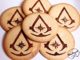 Assassin Cookies by tasukigirl
