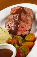 Herb Crusted Filet by Markhal