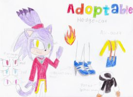 Adoptable Hedge Cat (Open) by 308752203