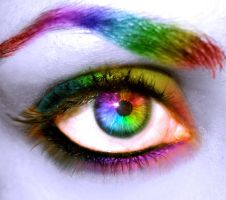 Colorful Eye by Fantastic-Eyes-Club