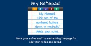 My Notepad by flashdo