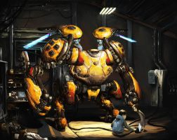 A Bumbling Bee by ConceptualMachina