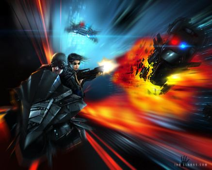 High Speed Chase by ianllanas