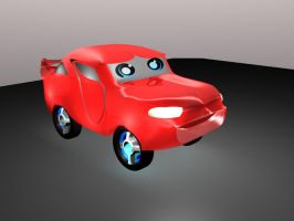 lil cute 3D car by XTorbenX