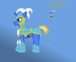 Craftis in Armor by Paladin0