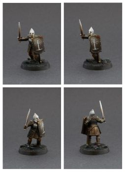 Warriors of Minas Tirith - Swordsman 3 by Colorfulsavage