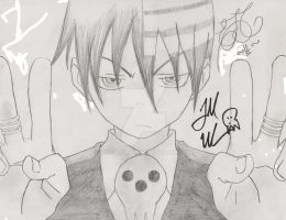 Death The Kid - Todd Haberkorn autograph by vegalume