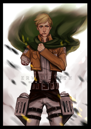 [CHAPTER 49 SPOILERS] ERWIN SMITH by Everinn