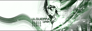 Ulquiora Cifer Signature by RisingDeadSoul