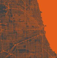 Chicago by MapMapMaps