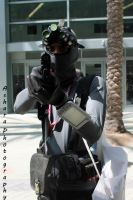 Sam Fisher cosplay by W4RH0US3