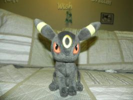 My Pokemon Plushie Collection - Umbreon by Megalomaniacaly
