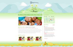 Kinder-garden web site by: out by WebMagic