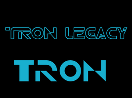 Tron Fonts by Thibtje