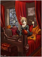 Busy little gryffindor by plumy