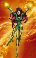 Jean Grey - X-Men by AndsportsART